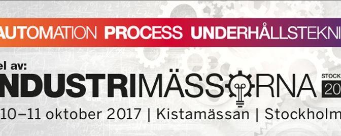 Industrimässorna 2017 Stockholm